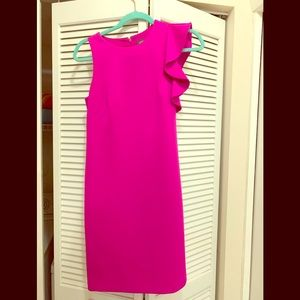 Vince Camuto hot pink mini dress